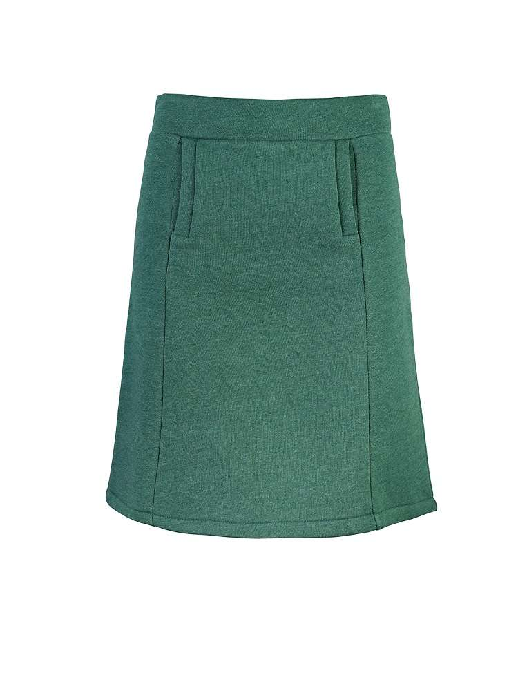 Girl Skirt Wood
