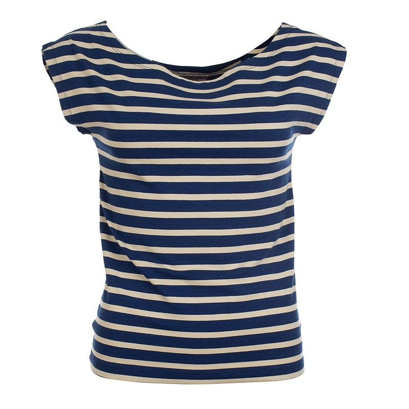 Shirt Ada Stripes Marine Bamboo