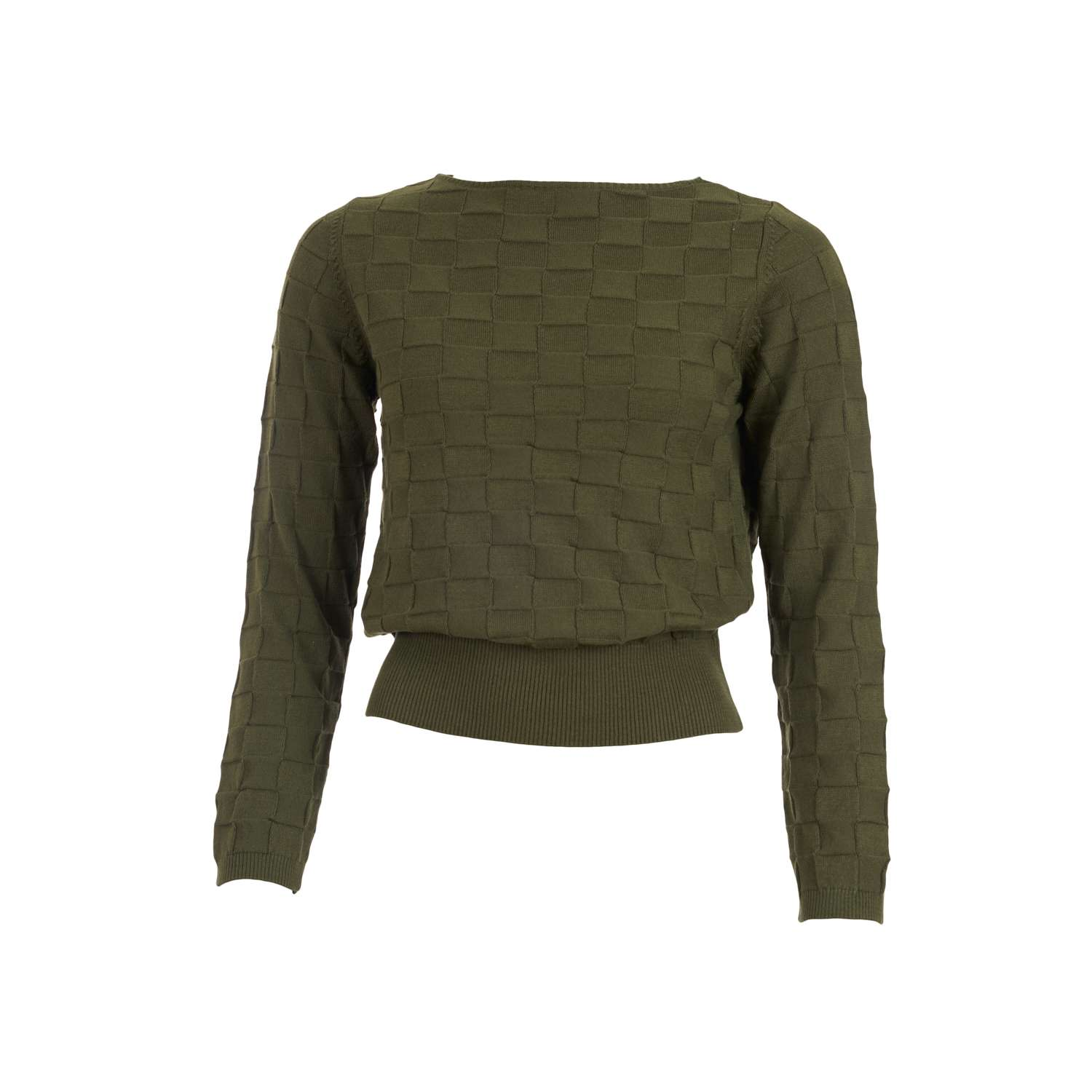 Sweater Rina Burnt Olive Organic/Cotton