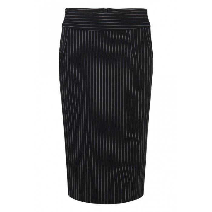 Pencil Skirt Pinestripe