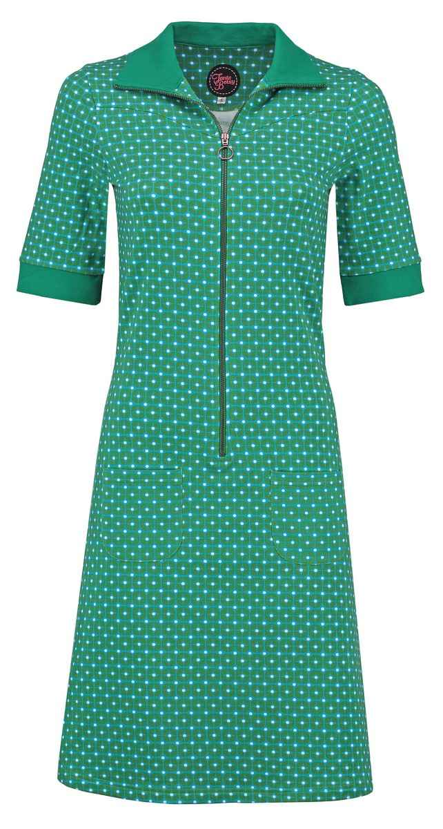 Dress Sporty Retro Rounds Green