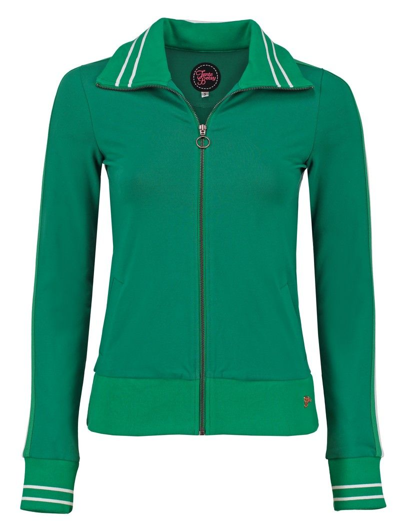 Sporty Jacket Loopknit Green