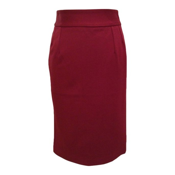 Pencil Skirt Wine