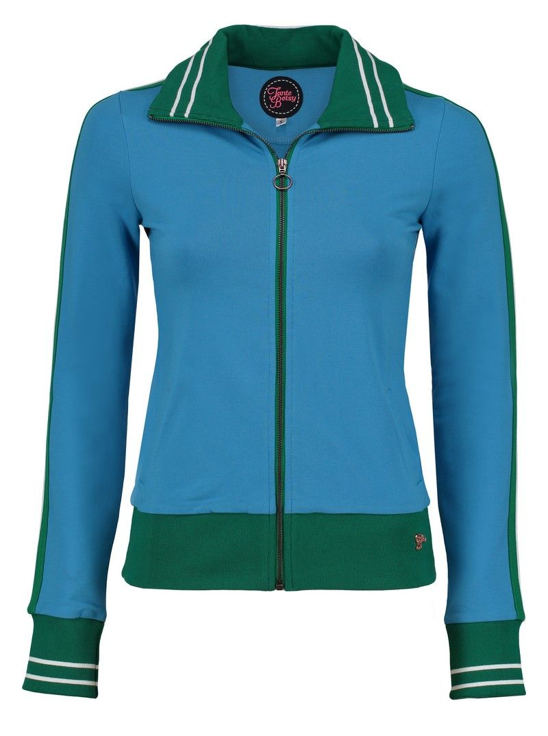 Sporty Jacket Loopknit Morning Dew