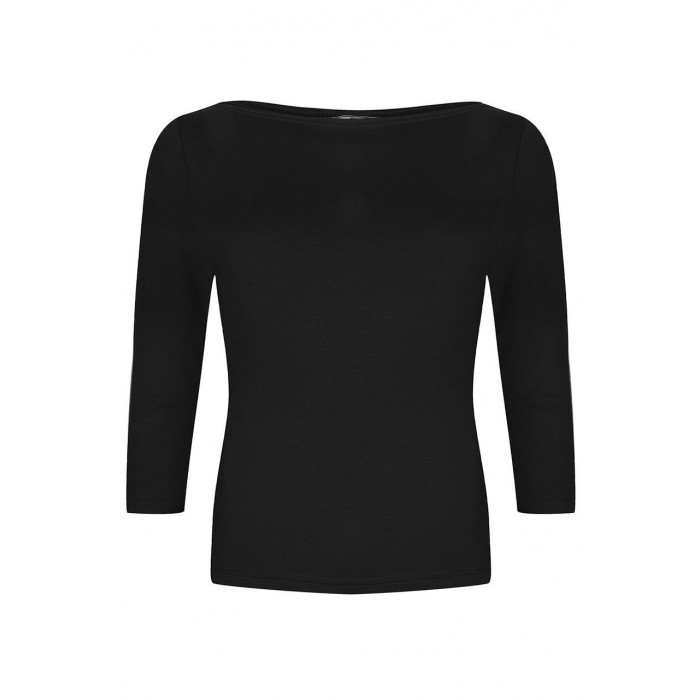 Boatneck Top Black