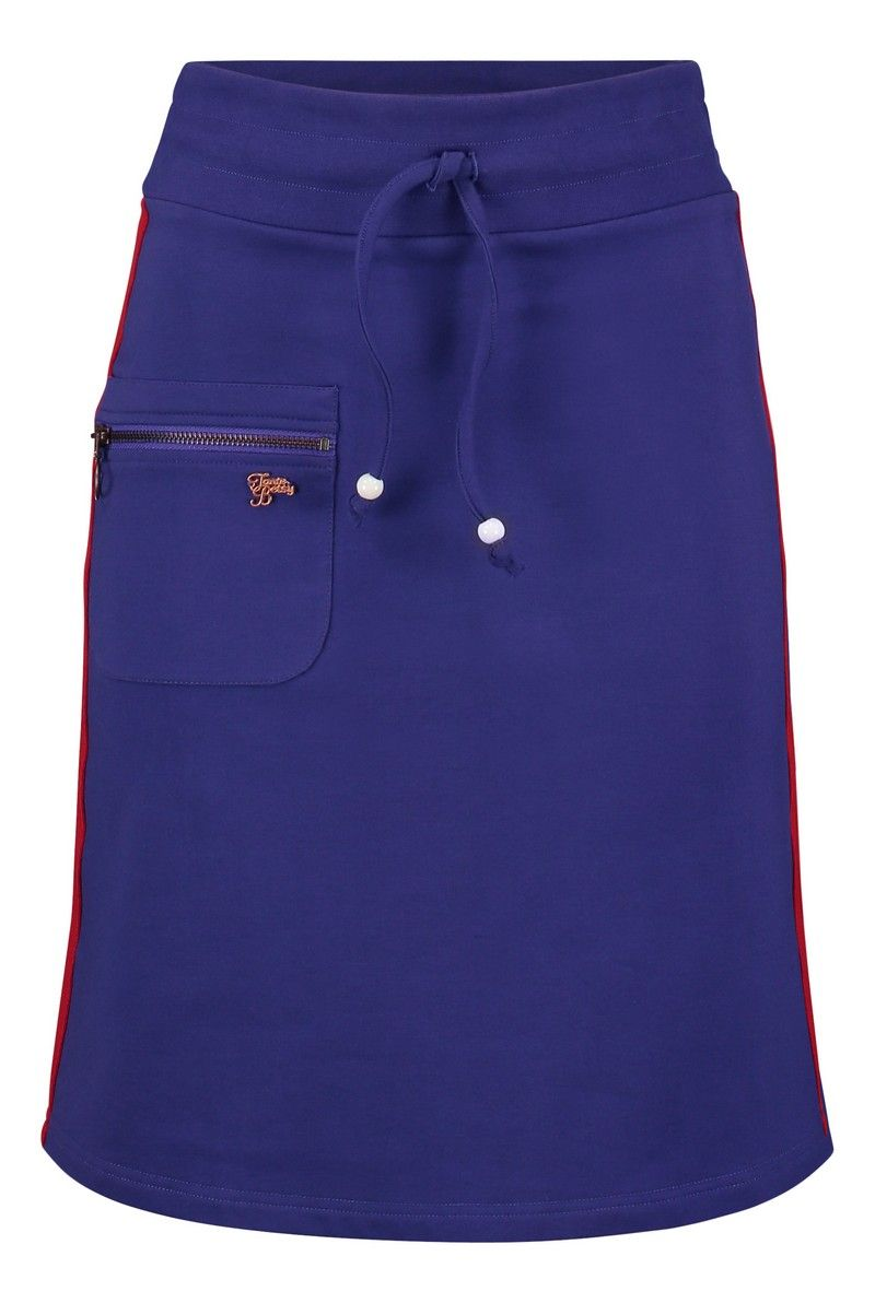 Skirt Zipper (Solid Loopknit) Purple