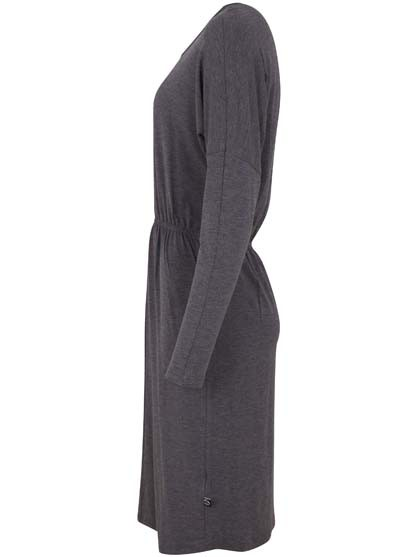 Infermiera Dress Dark Heather Grey