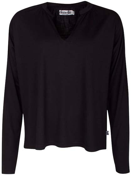 Barbara Wool Top Black