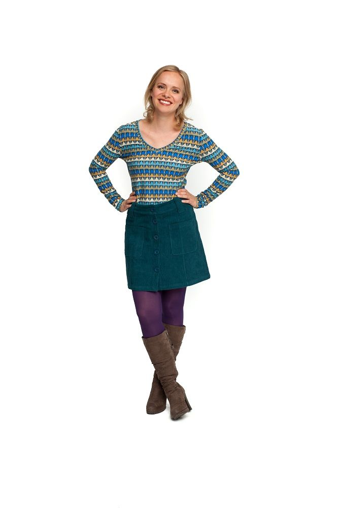 Skirt Candy Corduroy Spruce