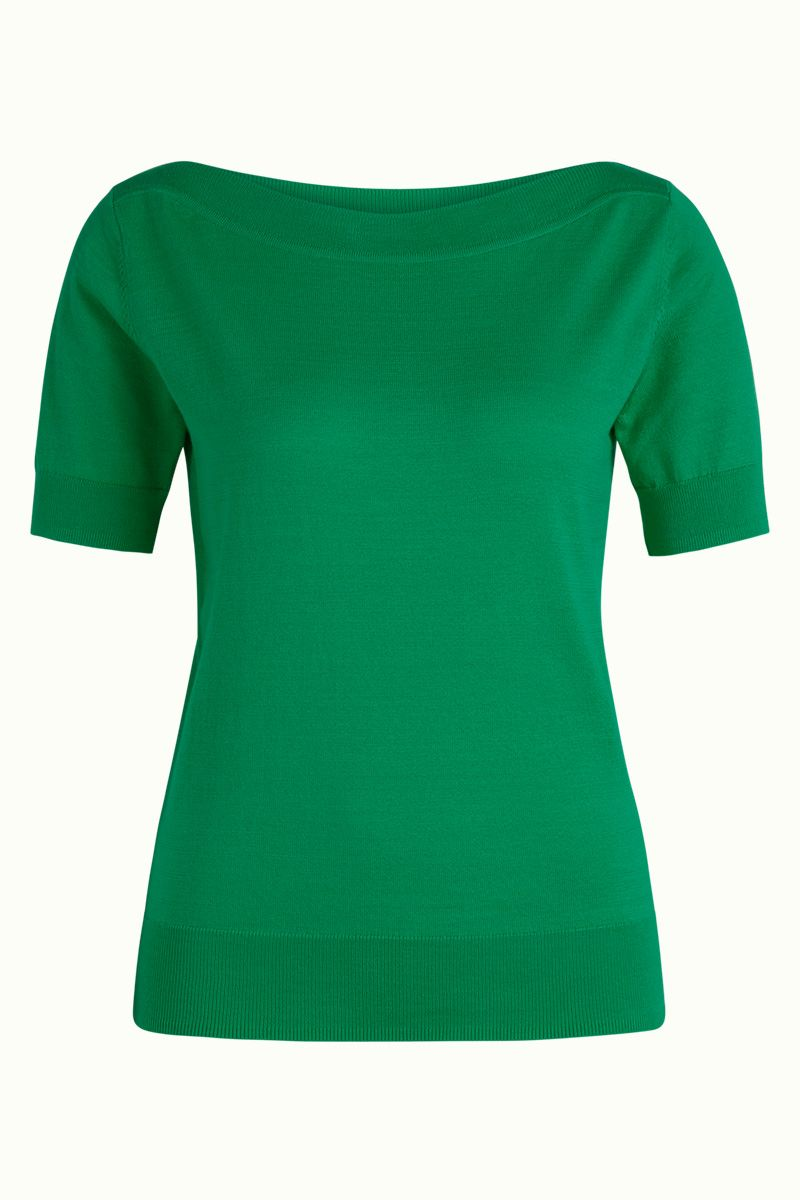 Audrey Top Cottonclub Peapod Green