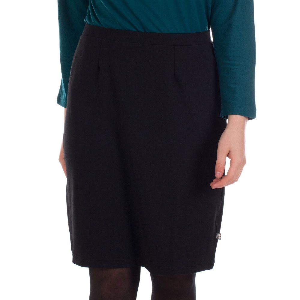 Skirt Suzette Black Den Crepe