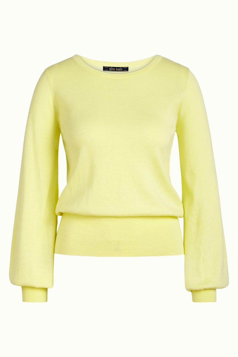 Bell Top Cottonclub Spring Yellow