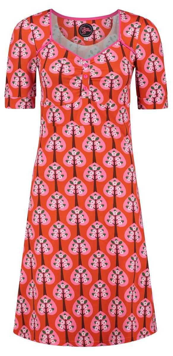 Dress Lola Hearts Tree Orange