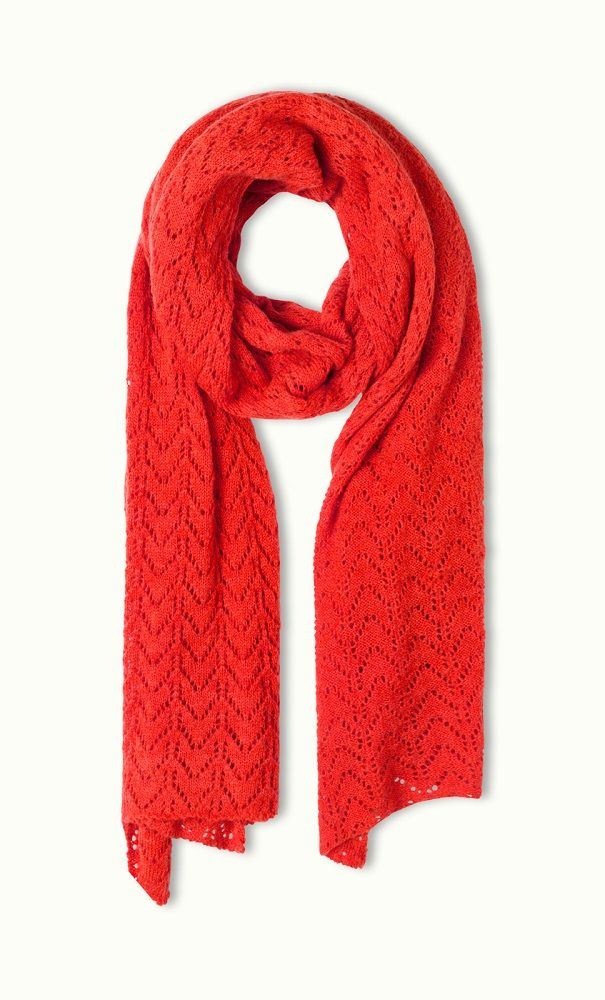 Scarf Florence Poppy Red