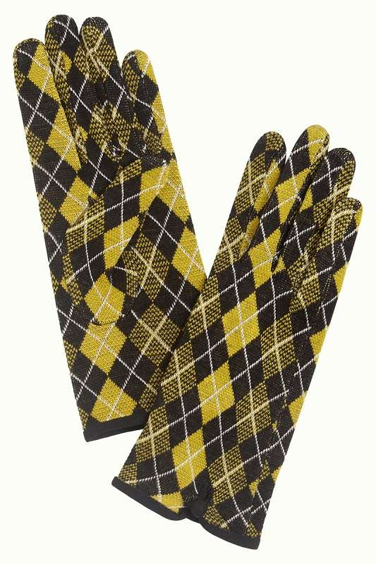 Glove Aberdeen Curry Yellow