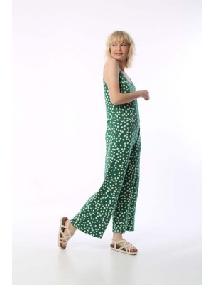 Mimosa Suit Funny Dots Hunter Green