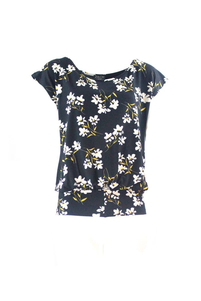 Top Black Daisy