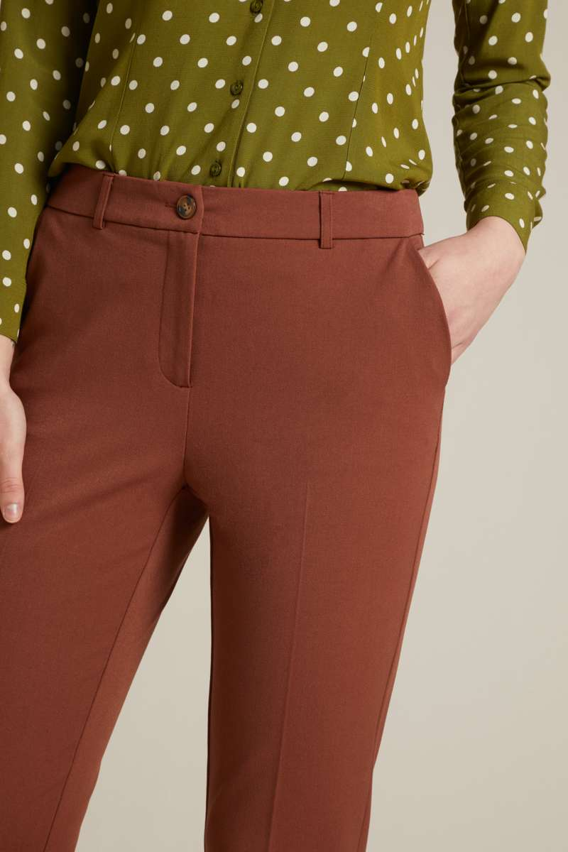 Ann Pants Broadway Brunette Brown