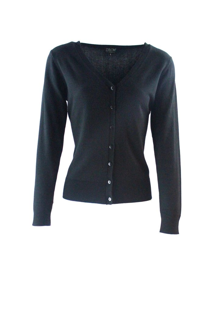 Cardigan V-neck Black