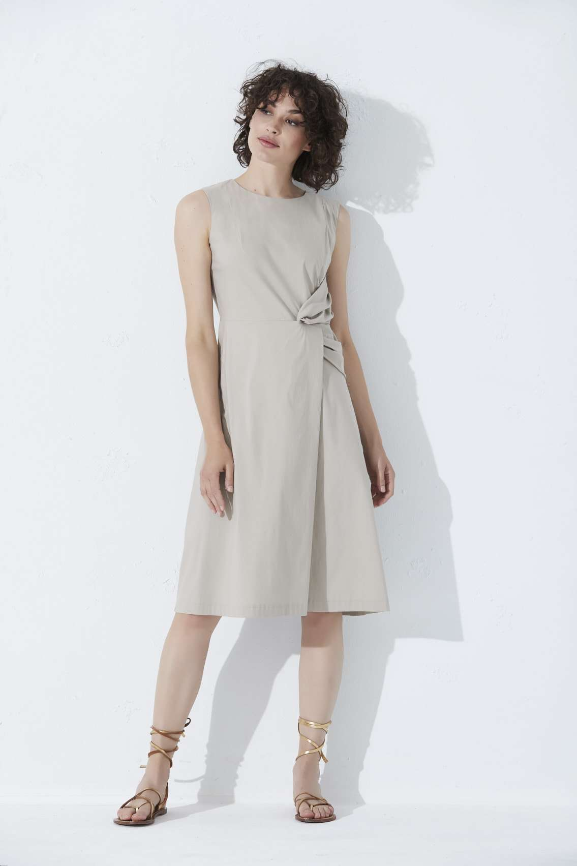 Moskita Dress Khaki