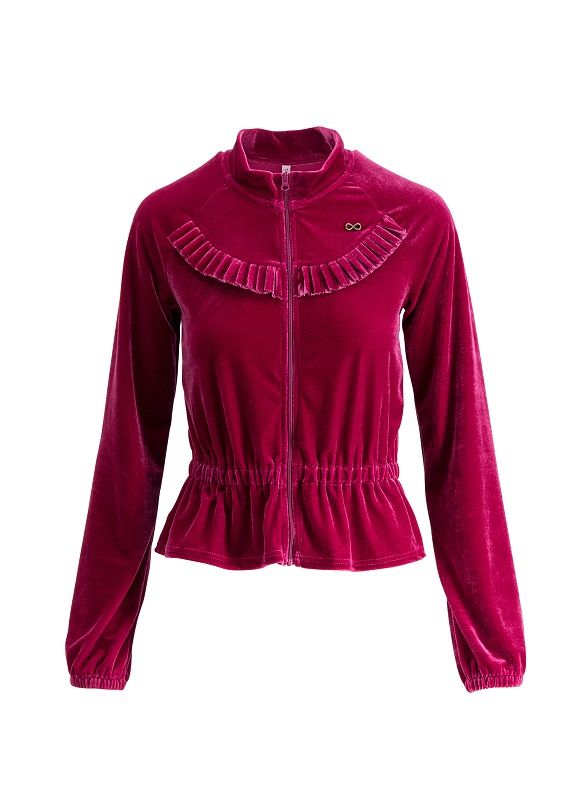 Flying Carpet Jacket Red Velvet