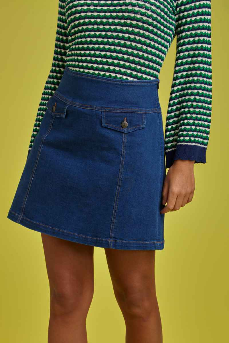 Lucie Skirt Denim