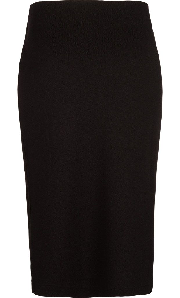 Tube Skirt Long Milano Crepe