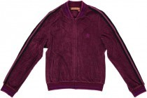 Baseball Jacket Aubergine