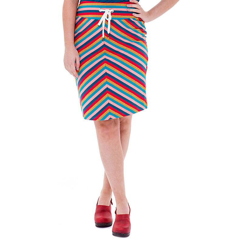Tube Skirt Stripe Pacific