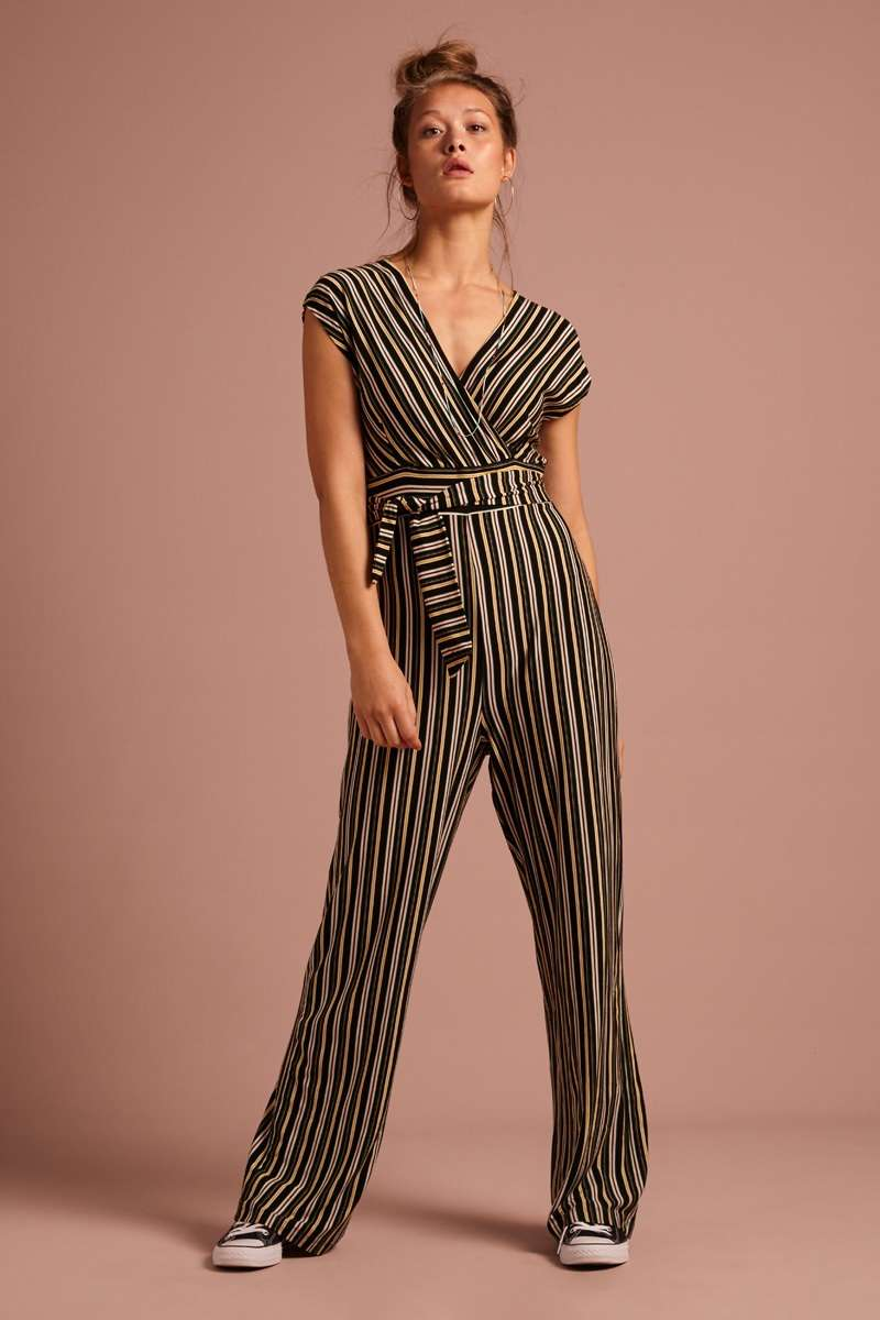 Lot Jumpsuit Gelati Black