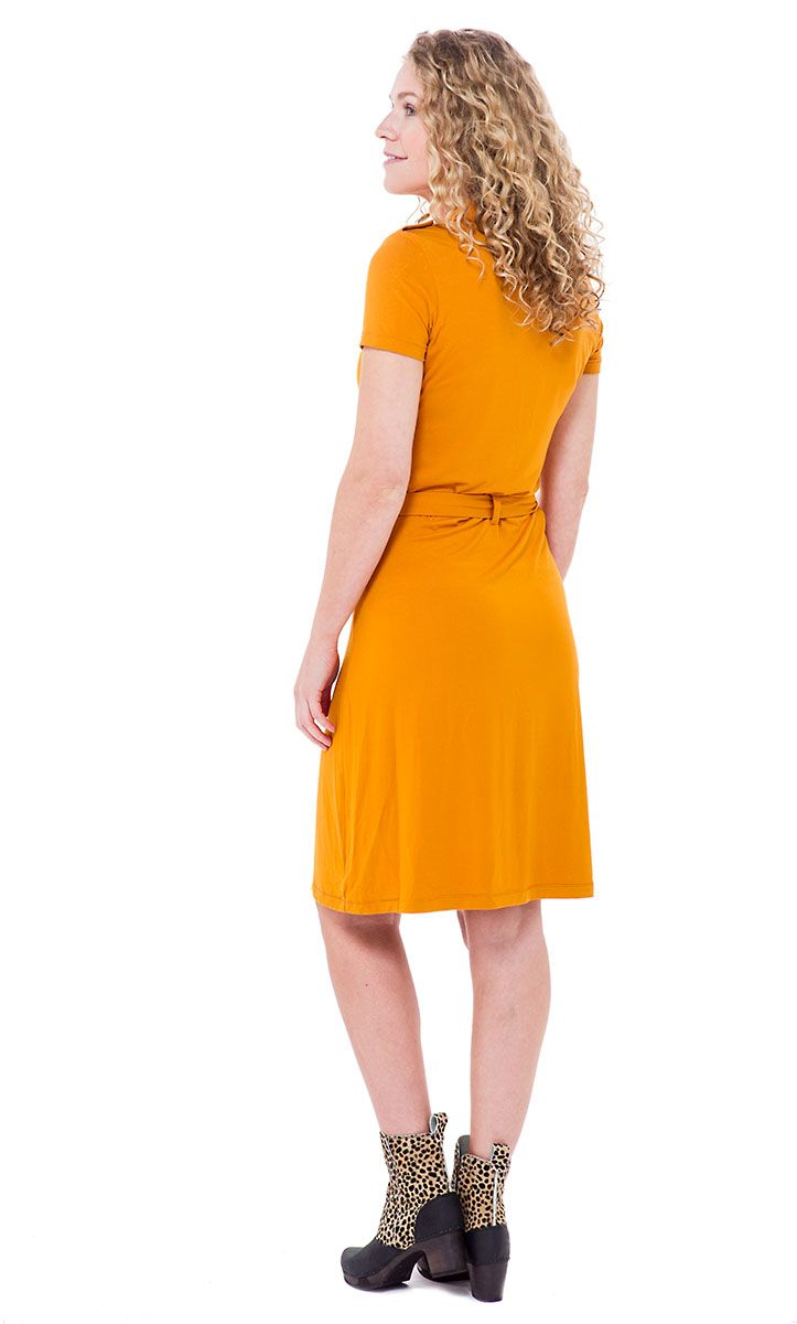 Polo Dress Rust