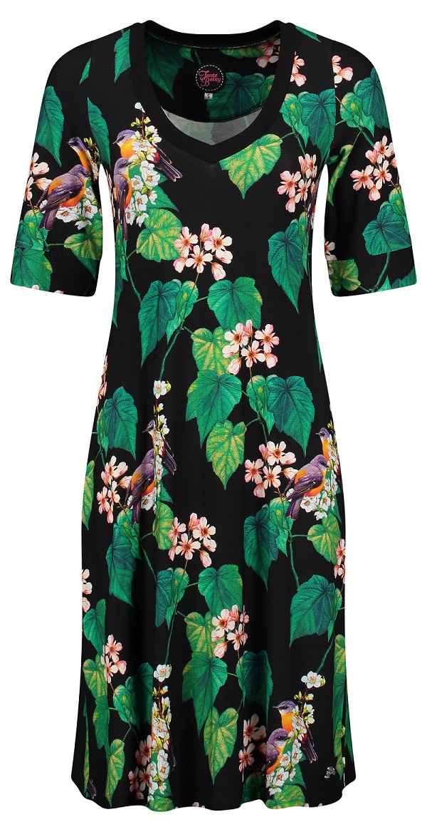 Dress Lizzy Botanical Garden Black