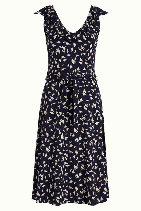 Vicky Dress Marina Blue