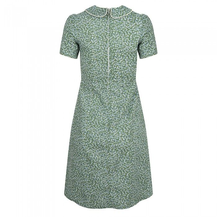 Pan Collar Dress