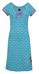 Dress Joyce Du Deer Aqua