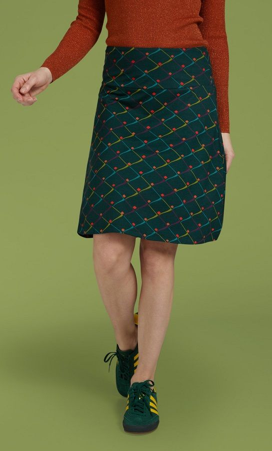 Border Skirt Rizzle Alpine Green
