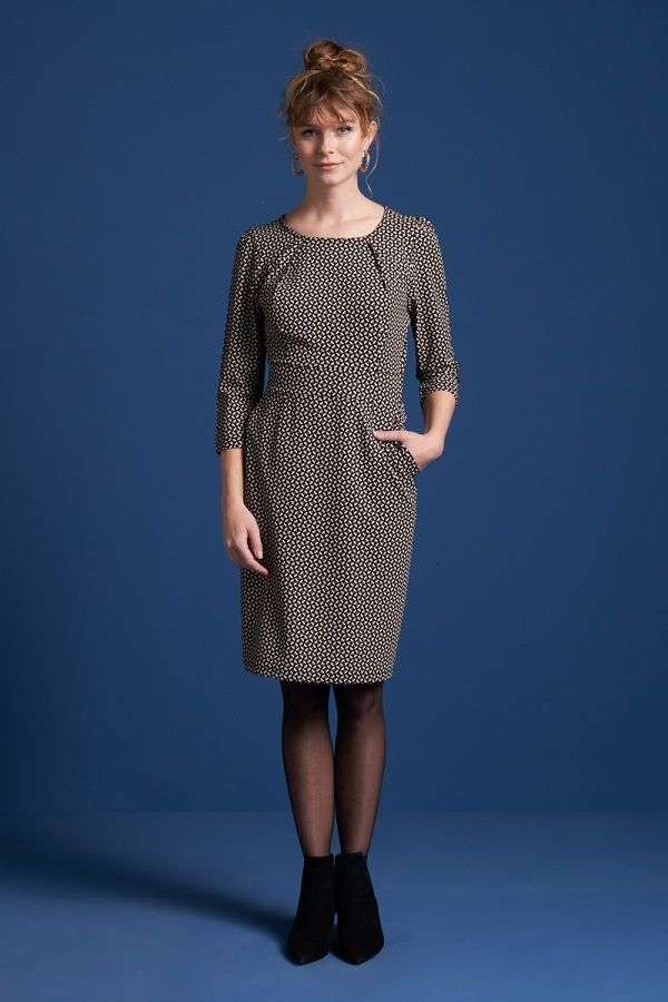 Mona Dress Haberdashery Black
