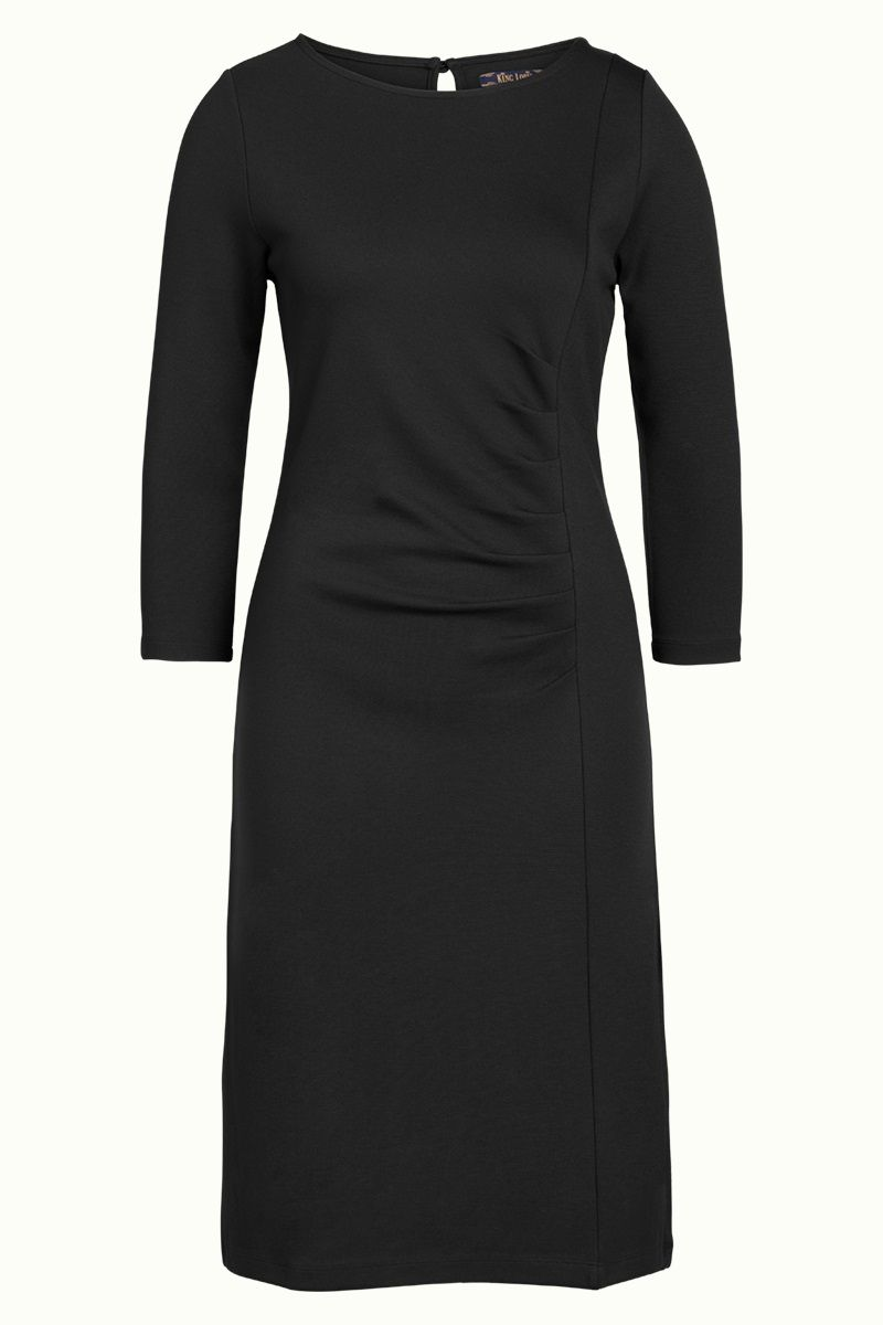 Brigitte Dress Milano Uni Black