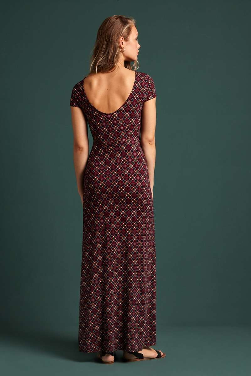 Sally Maxi Dress Lisboa Night-Sky Blue