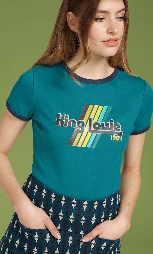 King Louie Tee Lapis Blue