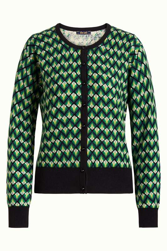 Cardi Roundneck Namaste Very Green