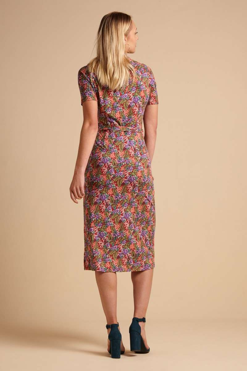 Rosie Dress Slim Fit Bahama Apple Pink