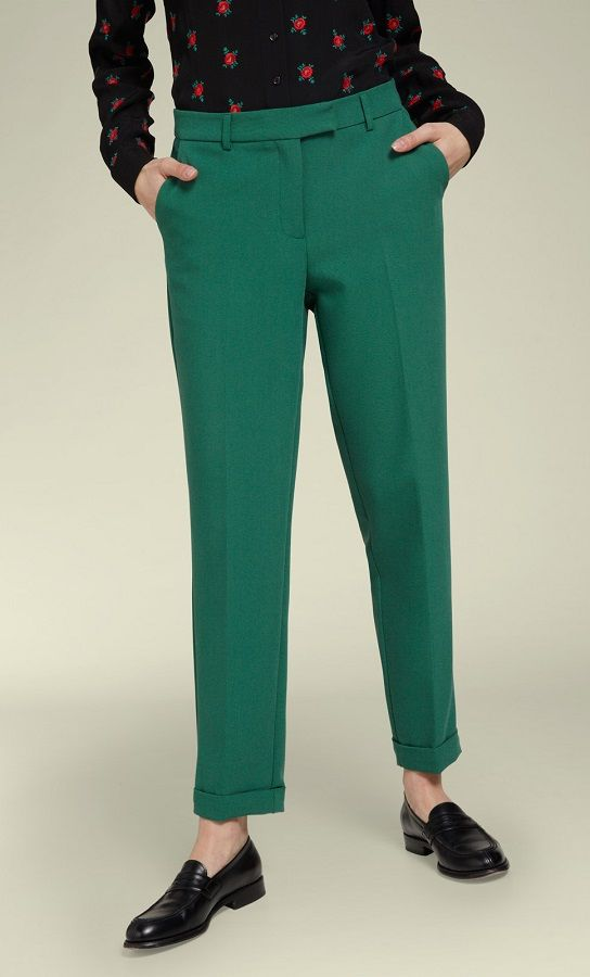 Ann Pants Tribeca Peacock Green