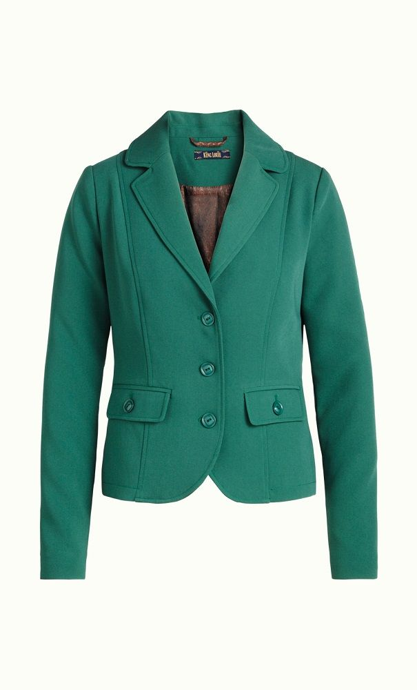 Blazer Tribeca Peacock Green