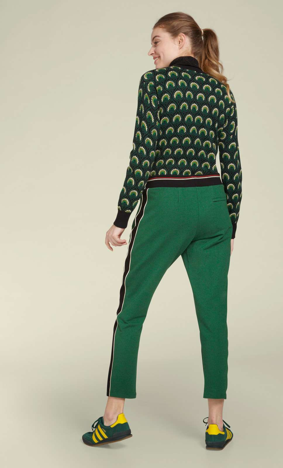 Joni Sweat Pants Uni Sweat Avar Green