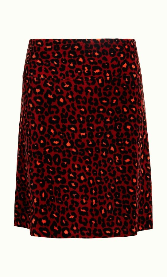 Border Skirt Whisker Rio Red