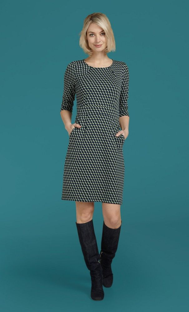 Mona Dress Wicked Dark Navy