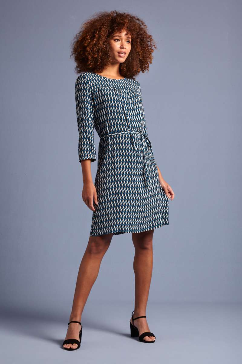 Biba Dress Papillon Bay Blue