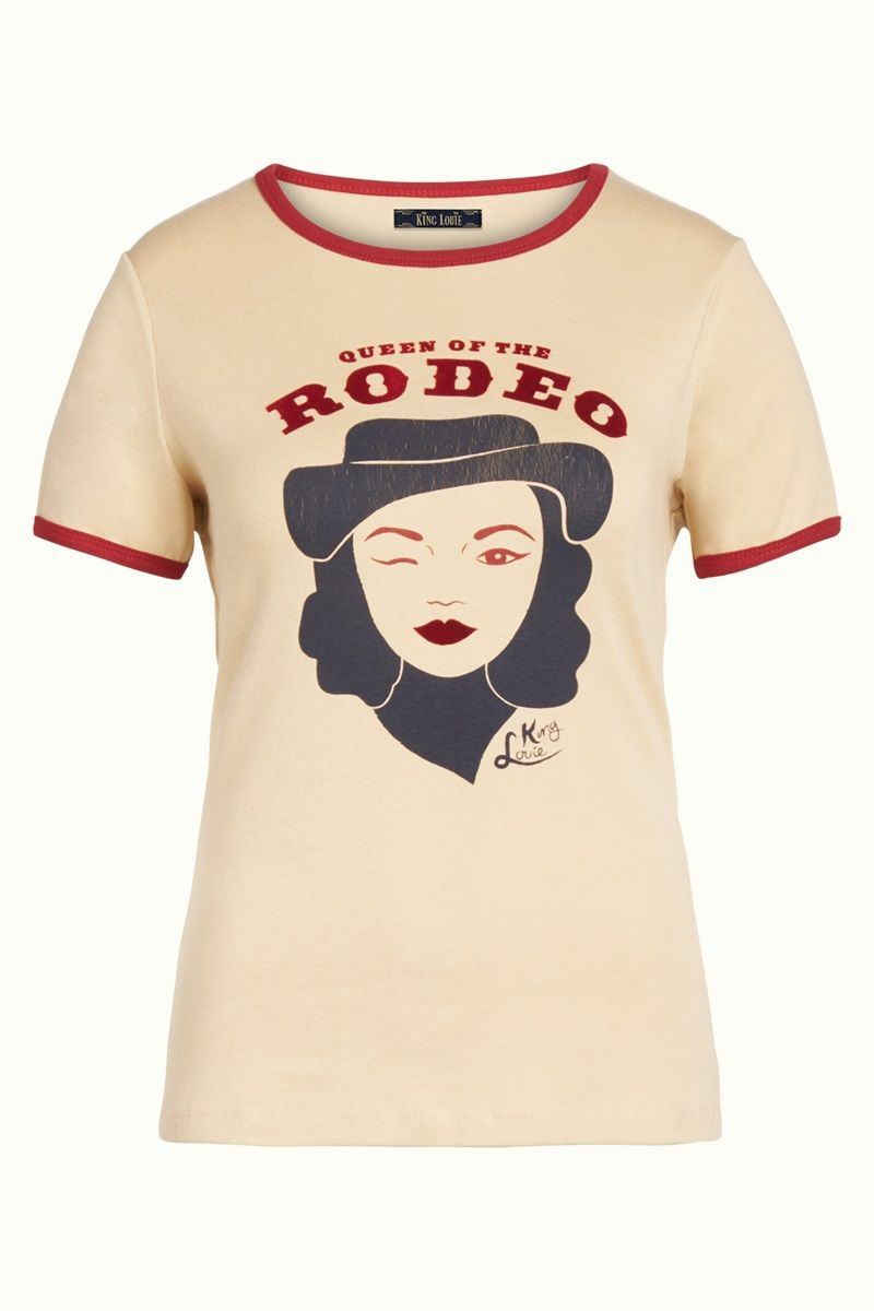 Rodeo Queen Tee Marzipan