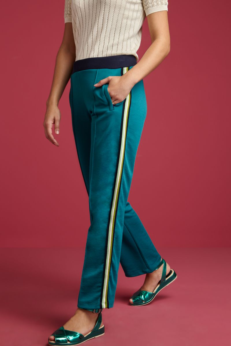 Straight Sweat Pants Trekkie Ponderosa Green